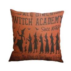 Yazilind Fashion Girl Dancing Printing Pattern Decorative Pillowcase Room Sofa Home 45*45CM / 17.55*17.55 Inch (Intl)