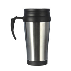 Zhouda 16 Oz Portable Stainless Steel Insulated Travel CarCoffee Tea Mug Cup Thermos - Intl