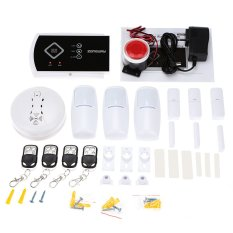 ZONEWAY Wireless Android IOS APP 433Mhz Autodial GSM SMS Security Alarm System Remote Control 850/900/1800/1900 MHz