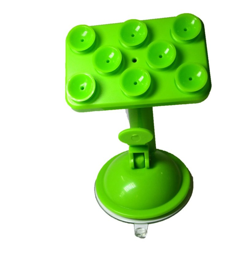 360 Degree Rotating Windshield / Dashboard suction cups Car Mount Phone Holder for Smartphones Mobile Phones -Green (Intl)