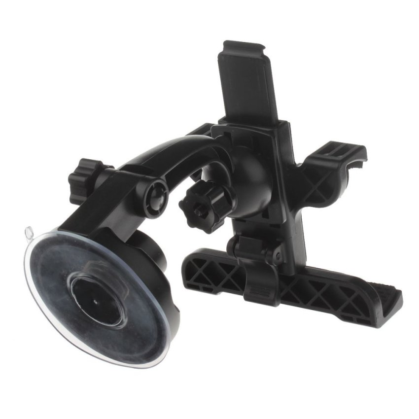 360 Degree Rotation Holder Mount w/ H17 Suction Cup + C61 Back Clamp for Samsung i9200 / Ipad MINI (Intl)