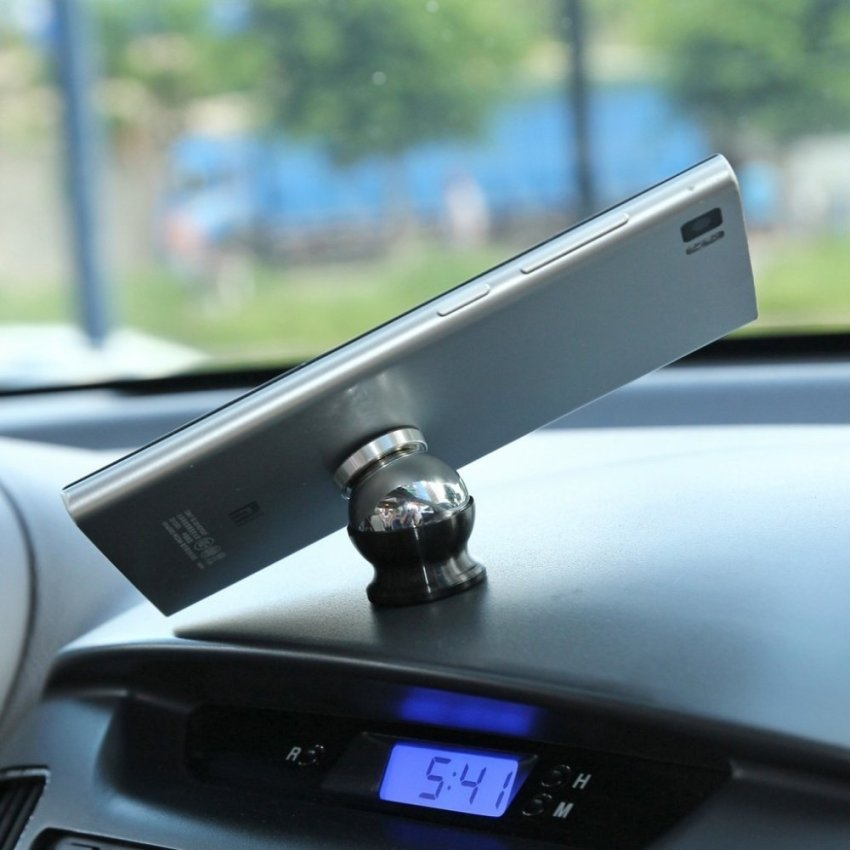 360 Degrees Magnetic Car Dashboard Mount for Smartphones (Intl)