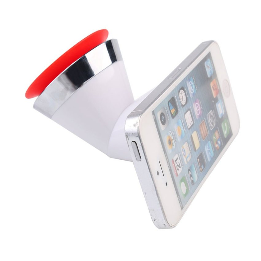 360 Double-Sided Silicone Sucker Phone Holder (Intl)