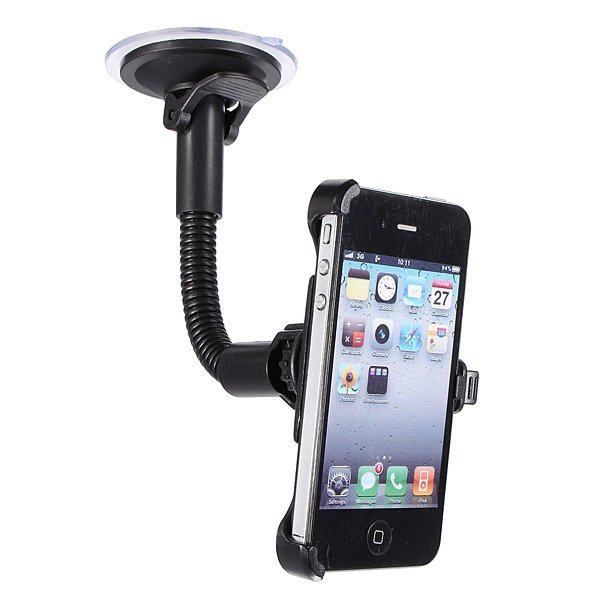 360 Rotating Car Windshield Mount Holder Cradle Stand for iPhone4 4G 4S (Intl)