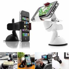 360° Rotating Universal Car Windshield Mount Stand Holder For iPhone/HTC Mobile Phone/MP4/MP5/GPS
