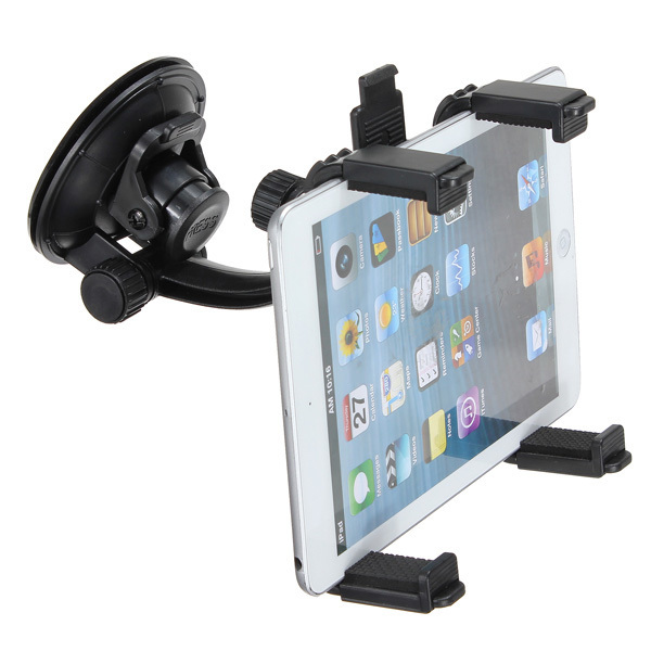 "360°Car Windshield Mount Holder Stand For iPad Air 5 4 3 Mini 2 1 Tablet 7-10"" (Intl)"