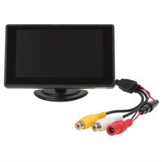 4.3 Inch Color TFT Car Monitor Support 480 X 272 Resolution + Car Rear-view Sysle (Intl)