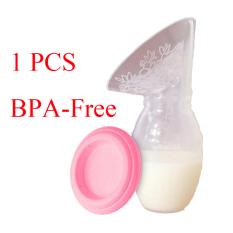1 buah bebas BPA silikon portabel Manual pompa payudara ASI kolektor - International