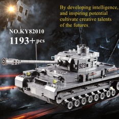 1193PCS Plastic Building Blocks Bricks War Armored Military Tank Model Kid Toys - intl