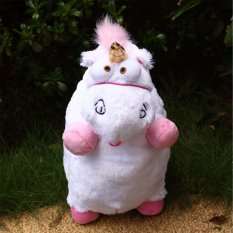 1Pcs Despicable Me Fluffy Unicorn Shape Stuffed Gifts For Kid Children - intl