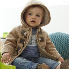 2016 bayi baru jaket cowok pakaian musim dingin 2warnd Outerwear mantel coklat International .