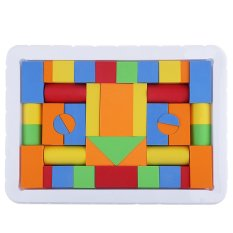 41pcs Baby Kids Colorful Building Blocks Set Classic Gift Creative Educational Puzzle Toy - Intl