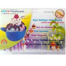 ABACA Flash Card Membaca Seri 1: Panen Es Krim