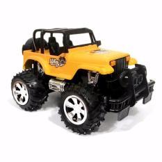 AHS RC Mobil Bigfoot Jeep 1/24 - Kuning