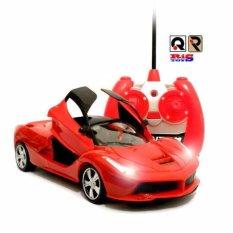 AHS RC Mobil Ferarri Pintu Bisa Di Buka Tutup Dengan Remote Control - Merah