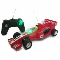 AHS RC Mobil Formula 1 / Mainan Remote Control Mobil Balap Formula 1 - Merah