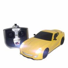 AHS RC Mobil Model Ferari Skala 1/24 - Kuning