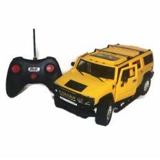 AHS RC Mobil Super Car Hummer Pintu Buka Tutup Dengan Remote Control Skala 1/16 - Kuning