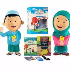 Al Qolam - Hafiz & Hafizah Talking Doll - Boneka Bisa Mengaji dan Berbicara (Sepasang)