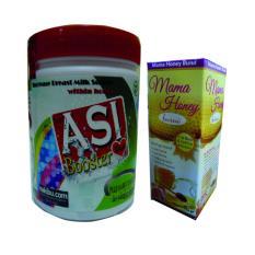 Asi Booster Tea (1 Pcs) + Mama Honey - Madu Busui (1 Pcs)