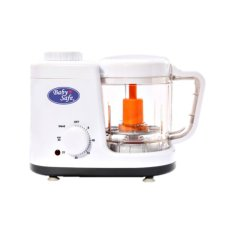 Baby Safe Food Maker Mesin Steam Dan Blend / Penghalus Makanan - Putih