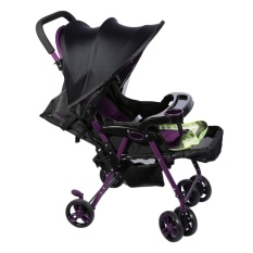 Baby Stroller Cover Infant Car Seat Sun Shade Buggy Hood Sun Blocking Canopy- Black - intl