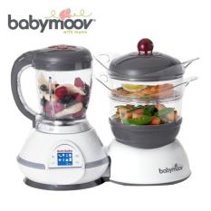 Babymoov Nutribaby Cherry - 5 In 1 Food Processor