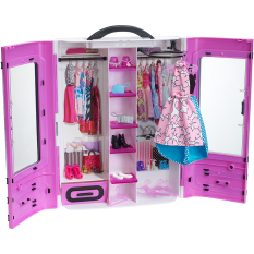 Barbie® Fab Fashion Closet - Purple