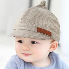 Bayi laki-laki dan perempuan terbaru Spring Fashion Korea topi bayi topi - International