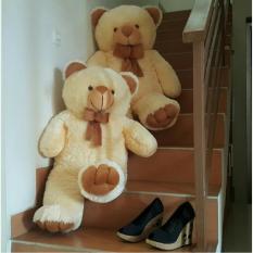 Boneka Beruang Teddy Bear Cream Besar 1 meter