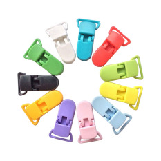 Comebuy88 Dot Plastik Klip Penenang Dumi Oto Tali Selempang Paci Pemegang Mainan Unisex -