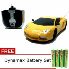 Daymart Toys Remote Control Lamborghini Aventador Racing Series 1:24 - Kuning
