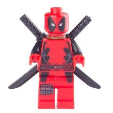 Deadpool Blok Bangunan Mainan Hadiah Ulang Tahun Untuk Anak Penebus Lego