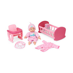 ELC Cupcake Baby Doll and Nurture Set