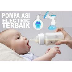 Electric Breast Pump MABAKI Digital - Pompa ASI Elektrik Bisa Pakai Baterai Charge