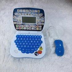 emyli mainan LAPTOP + MOUSE edukasi pembelajaran anak balita