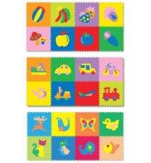Evamat - Karpet Puzzle Motif Gambar Binatang
