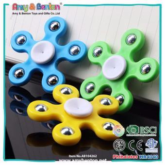 Fidget Spinner 5 Sisi Hand Toys Focus Games Mainan Spinner Tangan Penghilang Kebiasan .