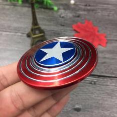 Fidget Spinner Model Captain America/ Mainan Spinner Tangan Penghilang Kebiasan Buruk