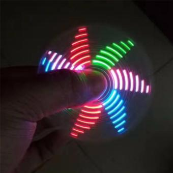 Fidget Spinner Model LED GRAMOR PATTERN Premium/ Mainan Spinner Tangan Penghilang Kebiasan Buruk Bentuk POLA