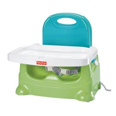 Fisher Price Healthy Care Green Booster Seat Kursi Makan Bayi - V8638