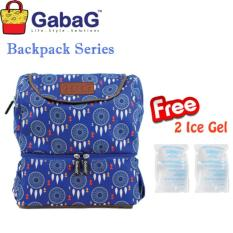 GabaG Cooler Bag Backpack Series Kirey - Free 2 Ice Gel