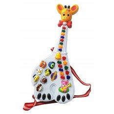 GITAR PIANO JERAPAH Mainan Anak - Gitar & Piano Jerapah
