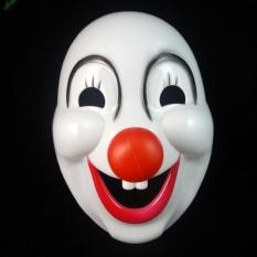 Halloween Hard Plastic Clown Mask Party Costume Masks - intl