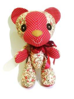 Happy Pelangi Craft Boneka Teddy Bear Red