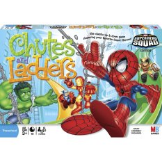Hasbro Chutes & Ladders Marvel Super Hero Squad - 47042