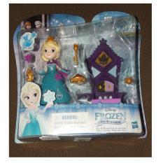 Hasbro Disney Elsa Frozen Little Kingdom Elsa & Throne Mainan Anak Usia 3 Tahun Mainan Boneka Frozen Anak Perempuan