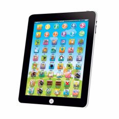 Hequ bahasa inggris belajar mesin Tablet PC komputer pendidikan anak mainan warna acak - International
