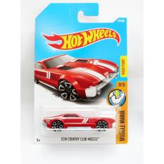 Hot Wheels CCM Country Club Muscle - merah