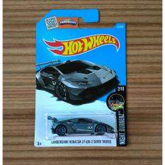 Hot Wheels Lamborghini Huracan LP 620-2 Super Trofeo Night Burnerz